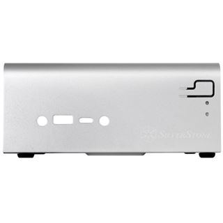 Silverstone SST-VT01S Mini-STX ohne Netzteil silber