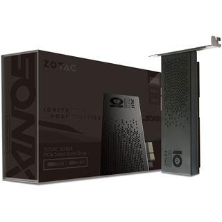 480GB ZOTAC Sonix 10 Year Anniversay Edition Add-In PCIe 3.0 x4 32Gb/s MLC (ZTSSD-PG3-480G-LED)