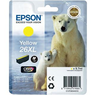 Epson C13T26344020 XP600 Gelb