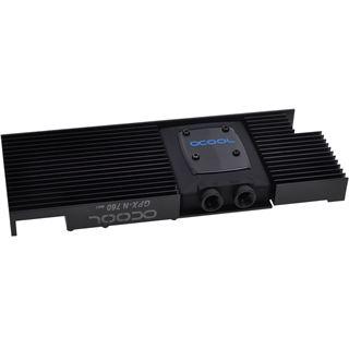 Alphacool NexXxoS GPX - Nvidia Geforce GTX 760 M01 - mit Backplate - Schwarz