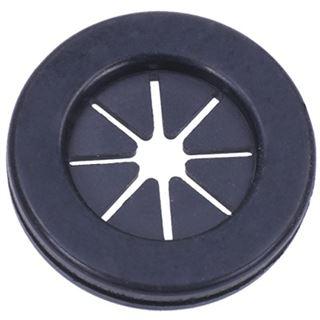Phobya Kabel Gummidurchführung rund - schwarz