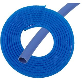 "Phobya Simple Sleeve Kit 6mm (1/4"") UV-Blau 2m incl. Heatshrink 30cm"