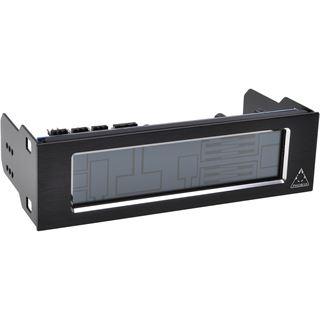 "Phobya Touch 630 - Fan Controller - Single Bay 5,25"" - black"