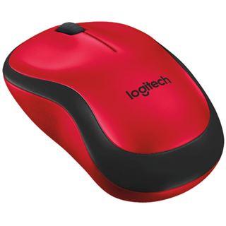 Logitech M220 Silent USB schwarz/rot (kabellos)