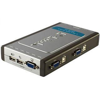 D-Link DKVM-4U 4-fach Desktop KVM-Switch