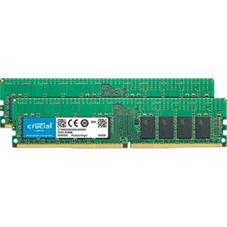 32GB Crucial CT2K16G4RFS4266 DDR4-2666 regECC DIMM CL19 Dual Kit