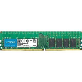 16GB Crucial CT16G4RFD8266 DDR4-2666 regECC DIMM CL19 Single