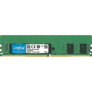 8GB Crucial CT8G4RFS8266 DDR4-2666 regECC DIMM CL19 Single