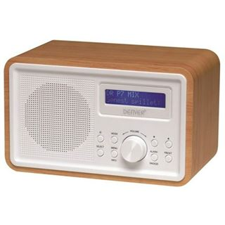 Denver DAB-35 Radio mit DAB+/PLL, holzoptik
