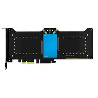 Angelbird Wings X2 RAID-Controller PCIe x1 für 2x SATA 6G HBA blau