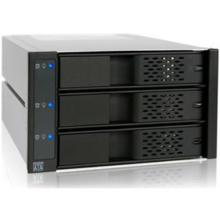 "Icy Dock FlexCage MB973SP-1B 3.5"" (8,89cm) SATA schwarz/silber"