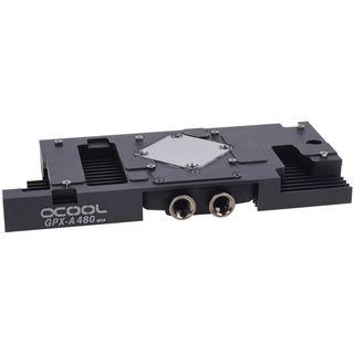 Alphacool NexXxoS GPX - ATI R9 480 M06 - mit Backplate - schwarz