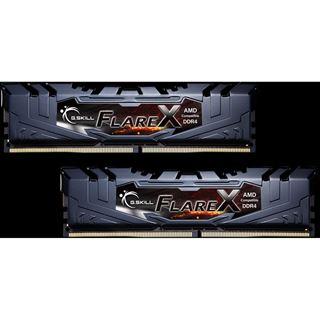 32GB G.Skill Flare X für AMD schwarz DDR4-2133 DIMM CL15 Dual Kit