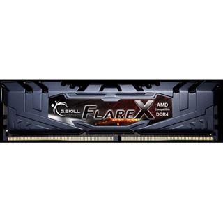 32GB G.Skill Flare X schwarz DDR4-2400 DIMM CL16 Quad Kit