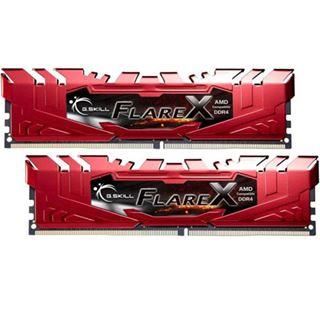 32GB G.Skill Flare X für AMD rot DDR4-2400 DIMM CL16 Dual Kit