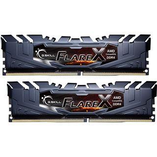 16GB G.Skill Flare X für AMD schwarz DDR4-2400 DIMM CL15 Dual Kit