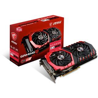 8GB MSI Radeon RX 580 Gaming X 8G Aktiv PCIe 3.0 x16 (Retail)