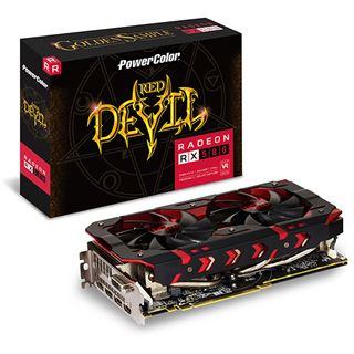 8GB PowerColor Radeon RX 580 Red Devil Golden Sample Aktiv PCIe 3.0