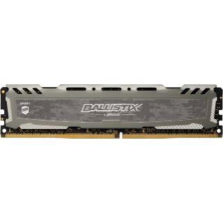 8GB Crucial Ballistix Sport LT Single Rank grau DDR4-2666 DIMM CL16