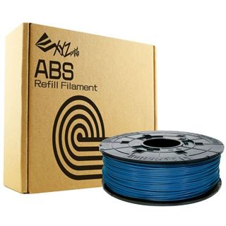 XYZPrinting Filamentcassette Steel Blue Refill ABS für da Vinci