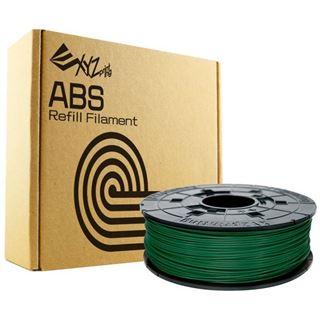 XYZPrinting Filamentcassette Green Refill ABS Bottle für da Vinci