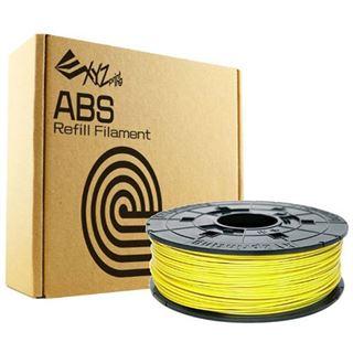 XYZPrinting Filamentcassette Cyber Yellow Refill ABS für da Vinci