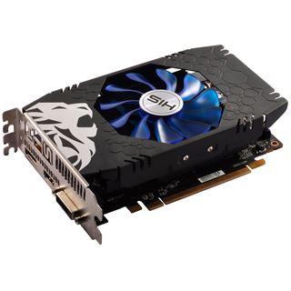 2GB HIS Radeon RX 550 GREEN iCooler OC Aktiv PCIe 3.0 x16 (x8)