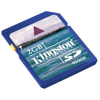 2 GB Kingston Standard SD Class 2 Bulk