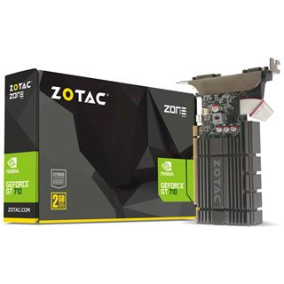 2GB ZOTAC GeForce GT 710 ZONE Passiv PCIe 2.0 x16 (Retail)