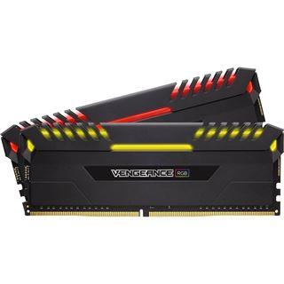 16GB Corsair Vengeance RGB DDR4-2666 DIMM CL16 Dual Kit