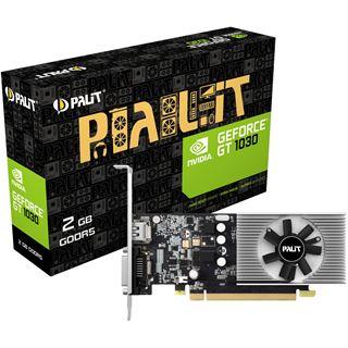 2GB Palit GeForce GT 1030 Aktiv PCIe 3.0 (Retail)