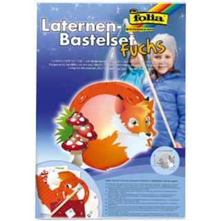 "folia Laternen-Bastelset ""Fuchs"""