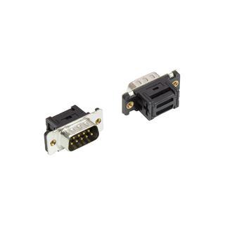 Good Connections 9-Pol Sub-D Stecker, Schneid-Klemme,