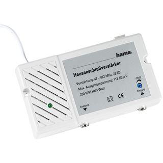Hama Antennen-Hausanschlussverstärker 22 dB