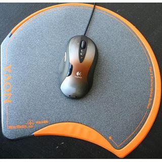 Mousepad Nova Killer Gamer-Mousepad schwarz/orange