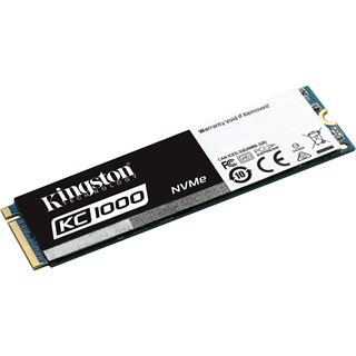 240GB Kingston KC1000 NVMe M.2 2280 PCIe 3.0 x4 32Gb/s MLC NAND