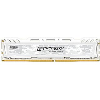 16GB Crucial Ballistix Sport LT weiß DDR4-2400 DIMM CL16 Single