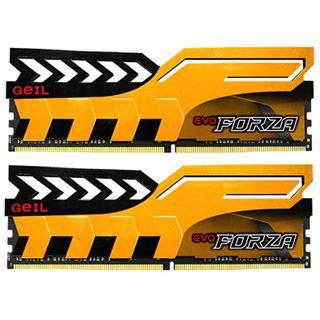 16GB GeIL EVO Forza gelb DDR4-2666 DIMM Dual Kit