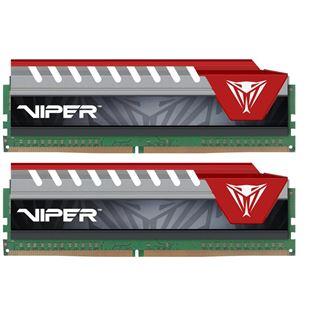 8GB Patriot Viper Elite rot DDR4-2400 DIMM CL15 Dual Kit