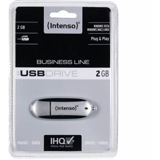 2 GB Intenso Business Line schwarz/silber USB 2.0