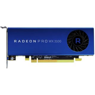 4GB AMD Radeon Pro WX 3100 Aktiv PCIe 3.0 x16 (x8) (Retail)