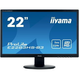 "22"" (55,88cm) iiyama ProLite E2283HS-B3 schwarz 1920x1080 1xHDMI"