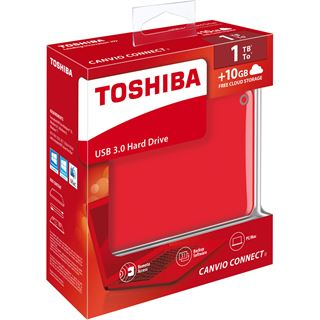 "500GB Toshiba Canvio Connect II HDTC805ER3AA 2.5"" (6.4cm) USB"