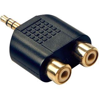 Lindy Audio Adp. 2xRCA BU/Klinken ST