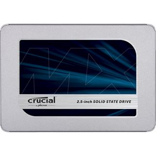 "500GB Crucial MX500 2.5"" (6.4cm) SATA 6Gb/s 3D-NAND TLC"