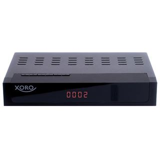 Xoro HRK 7672 TWIN, HD Kabelreceiver, PVR-Ready, schwarz