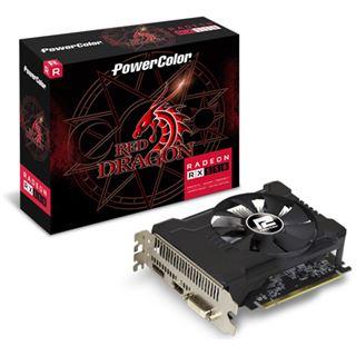 2GB PowerColor Radeon RX 550 Red Dragon OC Aktiv PCIe 3.0 x16 (Retail)