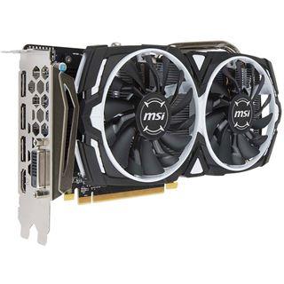8GB MSI Radeon RX 570 ARMOR 8G OC Aktiv PCIe 3.0 x16 (Retail)