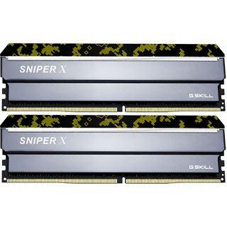 16GB G.Skill SniperX Digital Camouflage DDR4-2400 DIMM CL17 Dual Kit