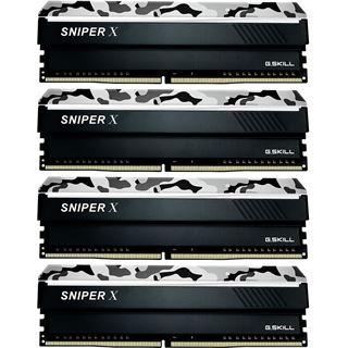 32GB G.Skill SniperX Urban Camouflage DDR4-2400 DIMM CL17 Quad Kit